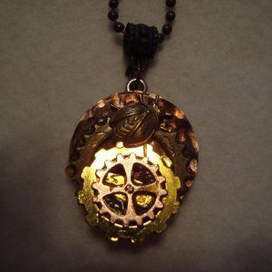 """Gear Necklace with """"The Fly!"""" - NWT"""